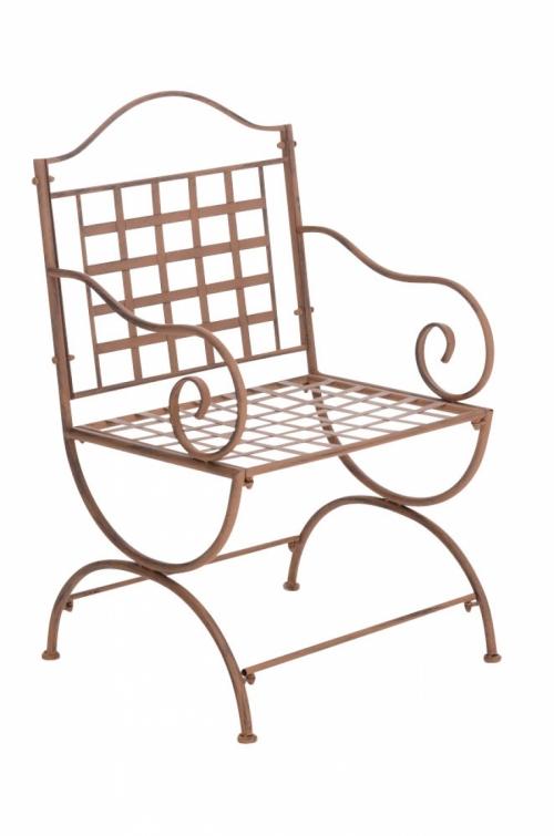 035046d8dc76 Kovová stolička Lotta s područkami